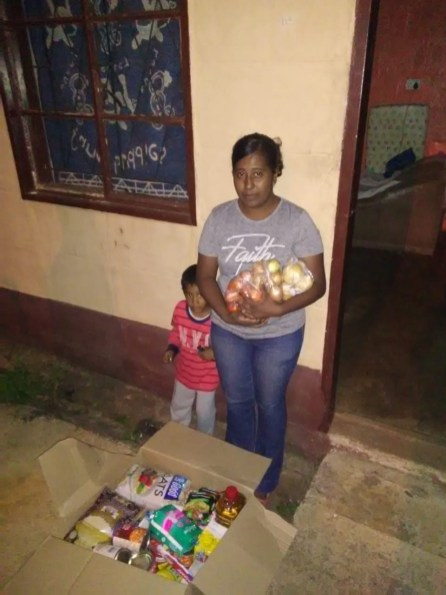 The MF Distributes Food Hampers to PMB Residents in Need During the COVID-19 Lockdown