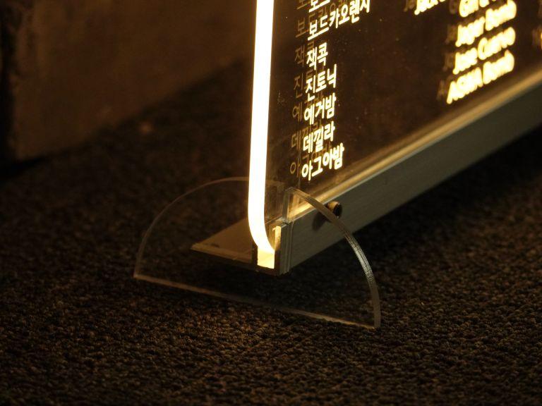 배너, 현판, 메뉴판, 바, 라운지, 칵테일 주류 메뉴판, 아크릴 메뉴판, 메뉴판 조명, 조명 메뉴판 제작