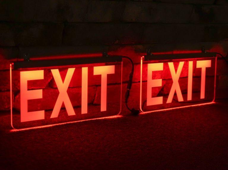 exit, 비상구, 비상등, 아크릴사인, 아크릴조명, 아크릴LED, LED 아크릴, 아크릴, 패널, 조명, 네온, 네온사인