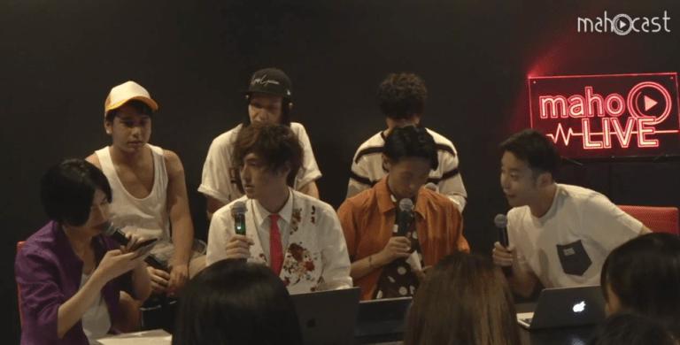 일본 음악 채널 아크릴사인