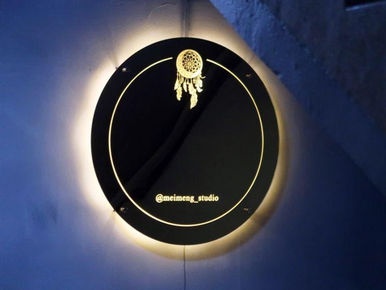 실내간판 골드미러 거울간판 040외부간판 LED간판 LED사인 거울사인