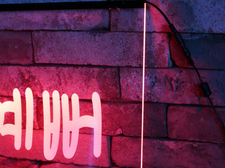 LED네온사인 붙이는조명 루프탑조명,무드등제작, 주문제작무드등 LED아크릴간판 LED아크릴사인 무드등제작 네온사인 창문간판