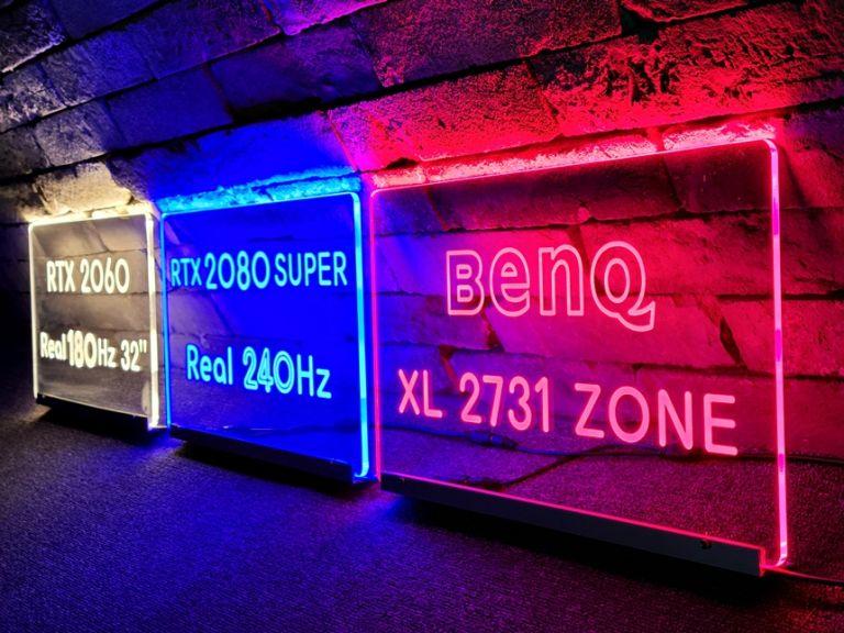 벤큐존 RTX2080 인테리어간판 전용석아크릴 07아크릴배너 LED아크릴 PC방인테리어 주문제작