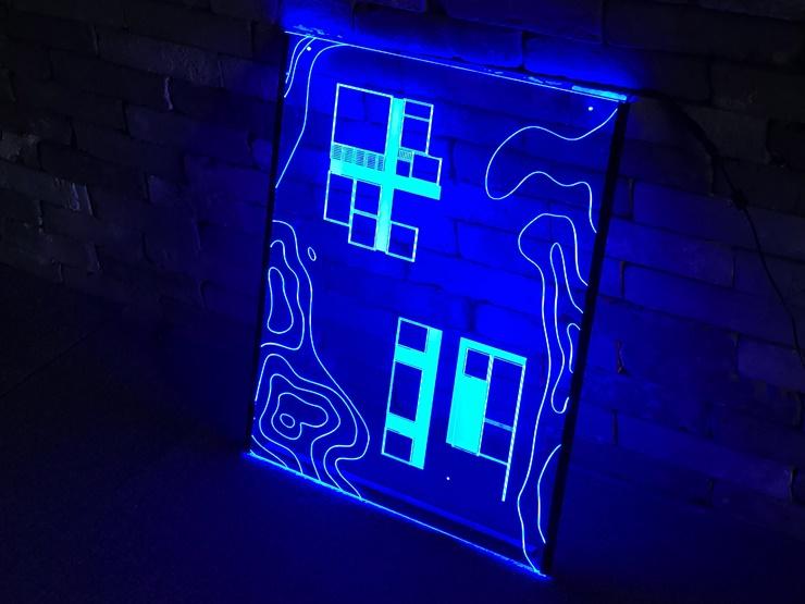 아크릴네온사인 아크릴LED사인 LED아크릴간판 010 실내간판 창문간판 벽간판