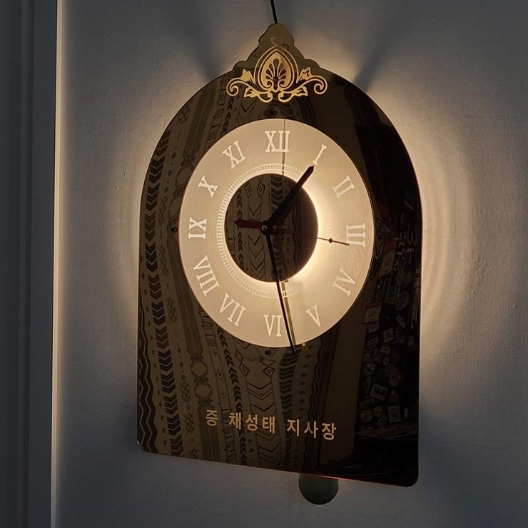 괘종시계 개업시계 벽시계 015 조명시계 주문제작벽시계 시계선물 개업선물 개업시계