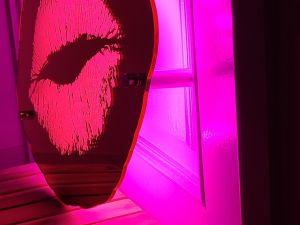 후광간판 LED거울 거울간판 LED조명거울 007 셀카존 포토존 미러사인 거울후광 후광사인 거울디자인