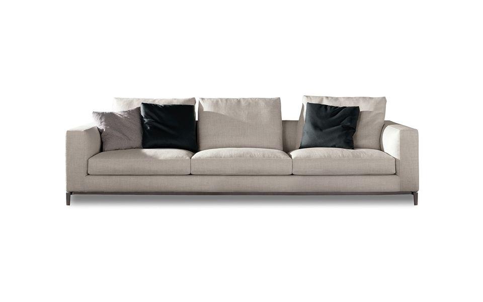 los angeles sofas blue leather sofa sleeper minotti andersen