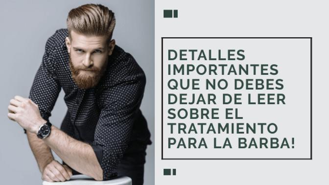 Tratamiento para barba blog