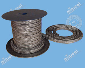Graphitized PTFE Teflon Graphite Packing
