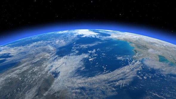 宇宙からの地球