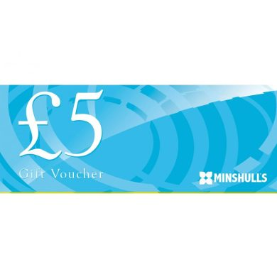five pound voucher at Minshull's Garden centre and plant nursery cheshire