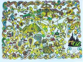 The orignal map park map