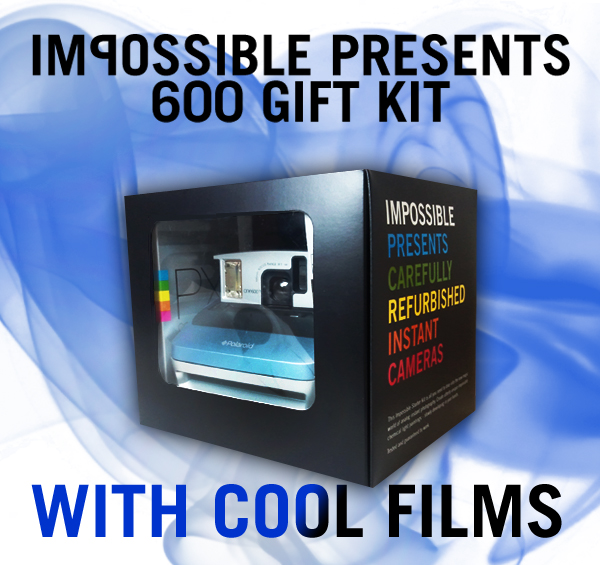 《Polaroid 600寶麗來相機系列 GIFT KITS》x Cool Film