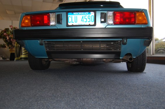 FIAT X1 9 Rear