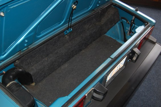 FIAT X1 9 Trunk