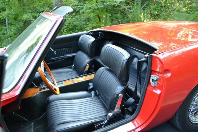 Ghia 450SS Interior