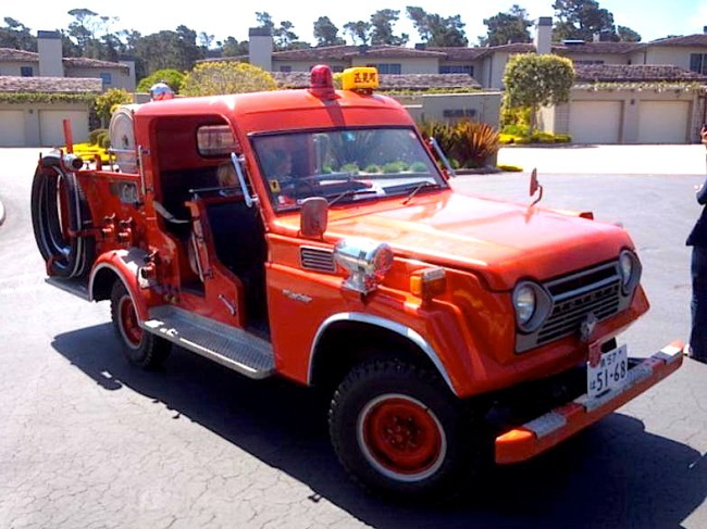 Land Cruiser Fire Truck FJ56