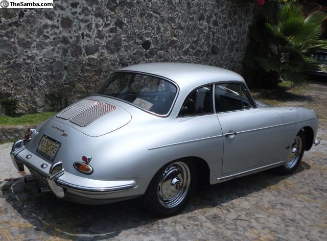 62 Porsche Notchback
