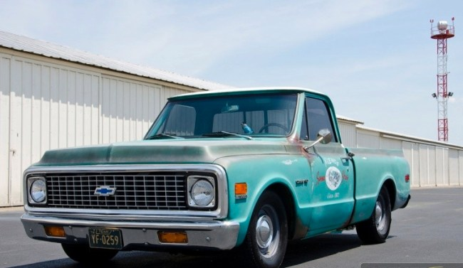72 Chevrolet C10 Shop Truck