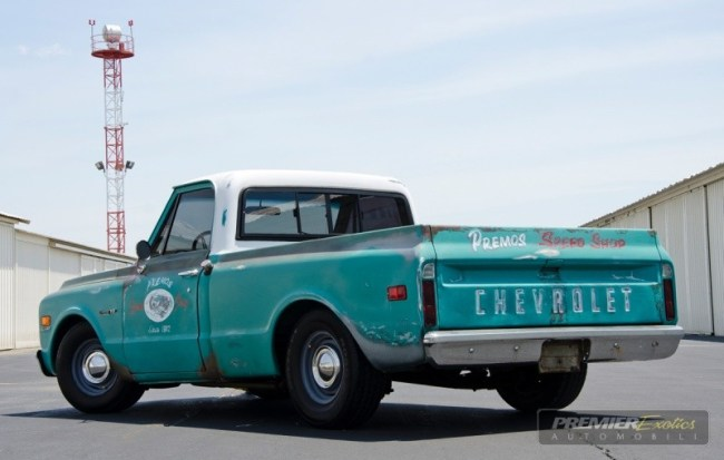 72 Chevrolet C10 Shop Truck re
