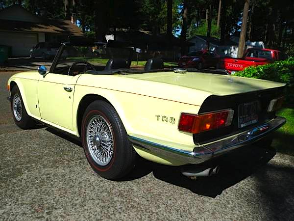 72 Triumph TR6
