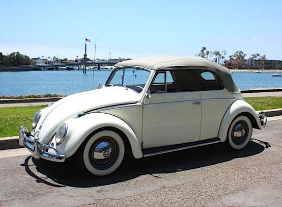 58 VW Convertible
