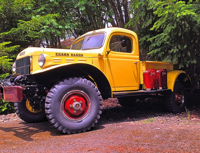60 Dodge Power Wagon
