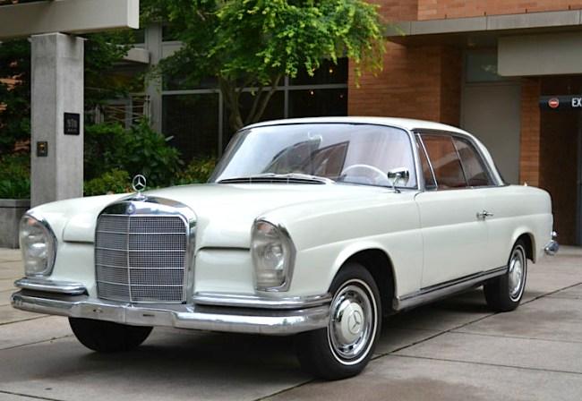 62 Mercedes Benz 220SE