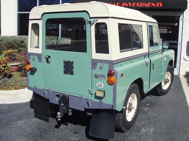 69 Land Rover re