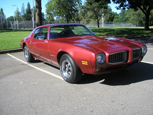 73 Pontiac Firebird