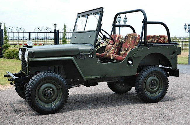 49 Willys Jeep CJ2A