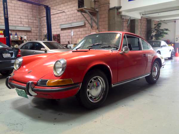 69 Porsche 911T