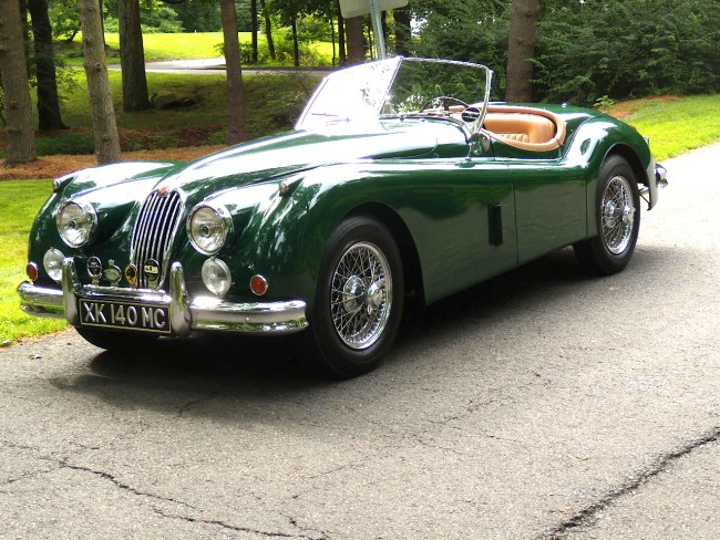 Jaguar XK140 MC