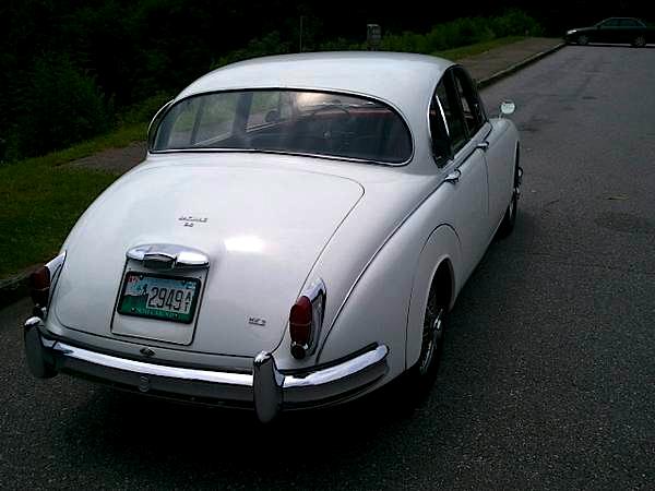 63 Jaguar MK II 3.8