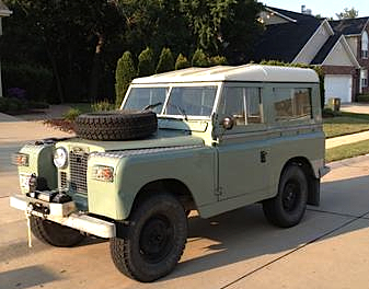 69 Land Rover Series IIA fr
