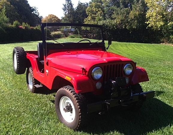71 Jeep CJ5