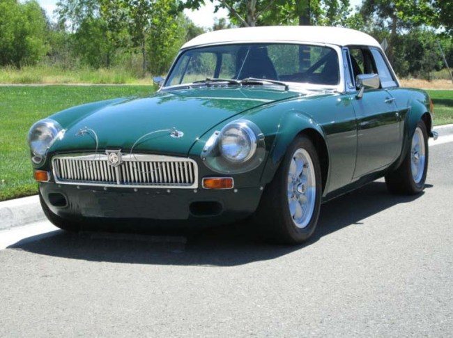 1971 MGB Race car