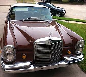 1969 Mercedes Benz 280 SE