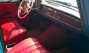 1963 Mercedes Benz 220S Dash