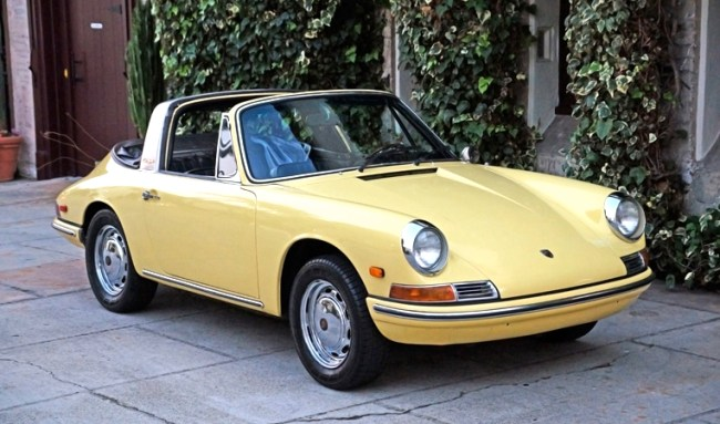 Champagne anyone?: '68 Porsche 912 Soft-window Targa | Mint2Me