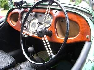 1950 Morgan dash