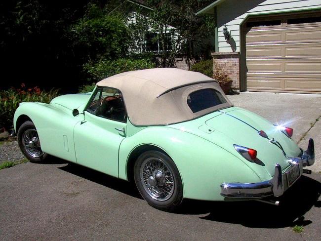 1955 Jaguar XK120 DHC