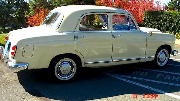 1960 M-B 190B