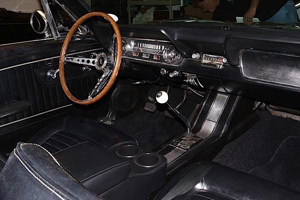 1965 Mustang dash