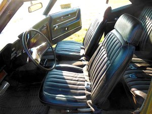 1969 Chevrolet Camaro Rally Sport int