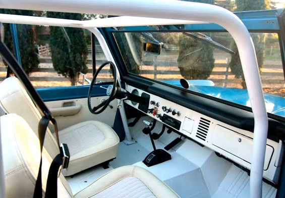 1970 Ford Bronco int