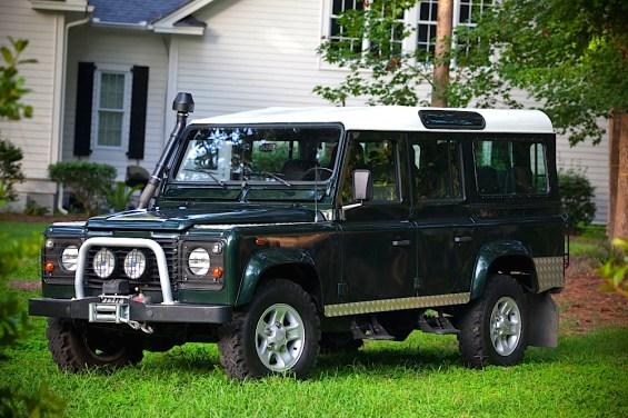 1984 Land Rover Defender 110 Diesel fr