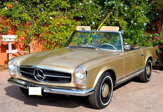 1966 MB 230SL