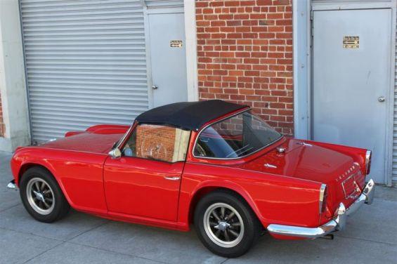 63 Triumph rear
