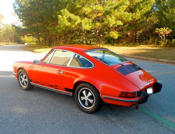 73 Porsche 911T re